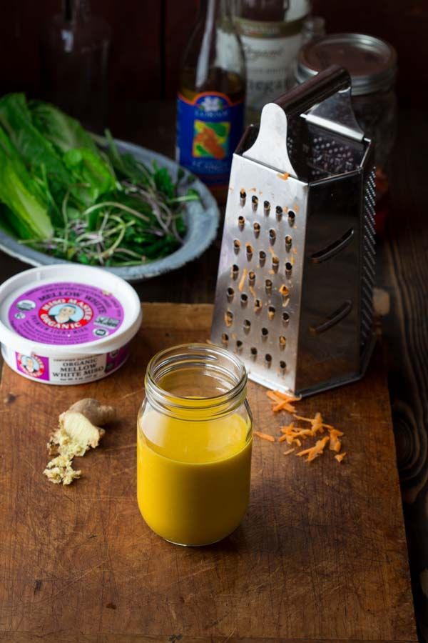 Carrot Ginger Dressing by Katie Webster on Healthy Seasonal Recipes