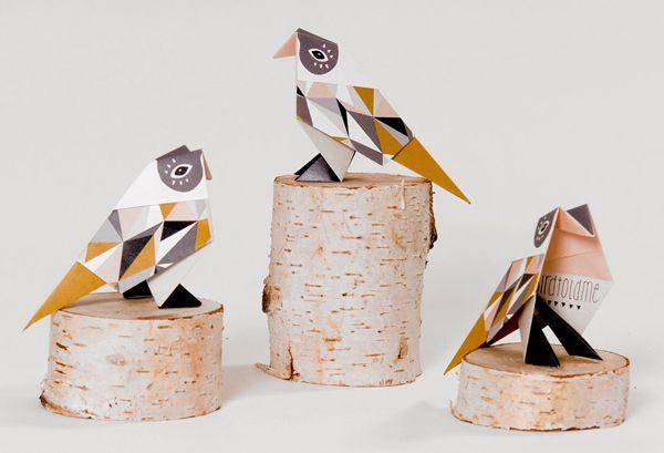 mooie origami dieren vouwen | http://www.woonschrift.nl/mooie-origami-dieren-vouwen/