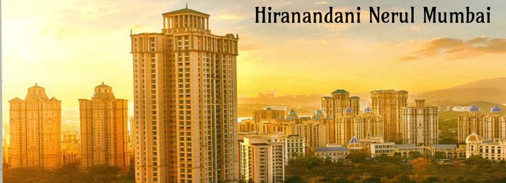 #HiranandaniNerul is best residential project offers one, two and three bedroom apartments with grand amenities developed by #Hiranandanigroup placed at Nerul of navi #Mumbai.