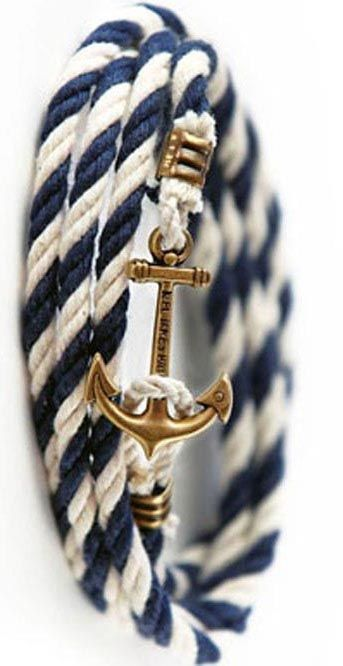 yes please, anchor bracelet. Mens Fashion     http://www.adlero.com