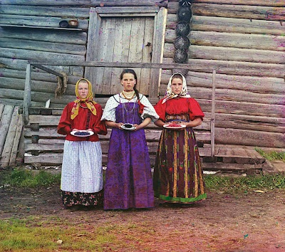 Photographs by Russian chemist and photographer, Sergei Mikhailovich Prokudin-Gorskii