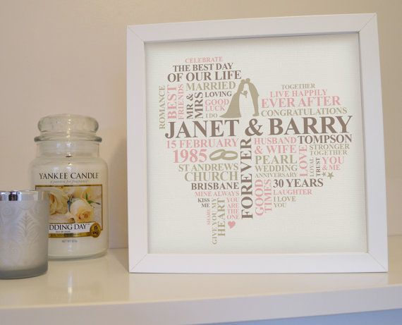 17 Best ideas about Pearl Wedding Anniversary Gifts on Pinterest ...