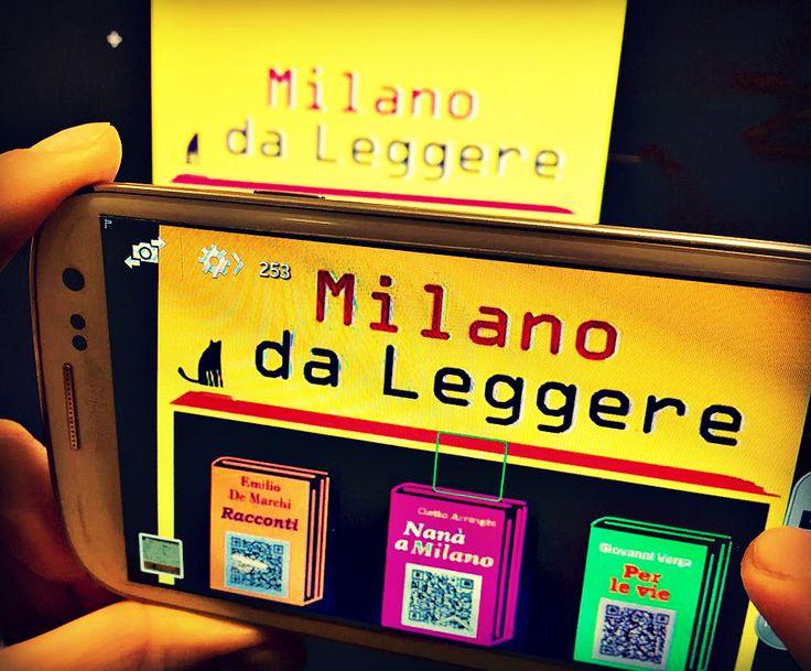 Un Post davvero interessante su una Brillante Idea della città di Milano: Ebook gratis in Metropolitana: http://www.librierecensioni-blog.it/milano-da-leggere-ebook-gratis-metro/