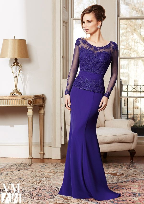 Evening Gowns / Dresses Style 71018: 71018 Lace/Mesh/Chiffon http://www.morilee.com/socialocassion/vm_collection/71018