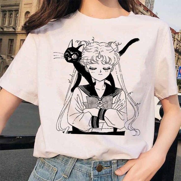 45+ Aesthetic anime t shirts ideas