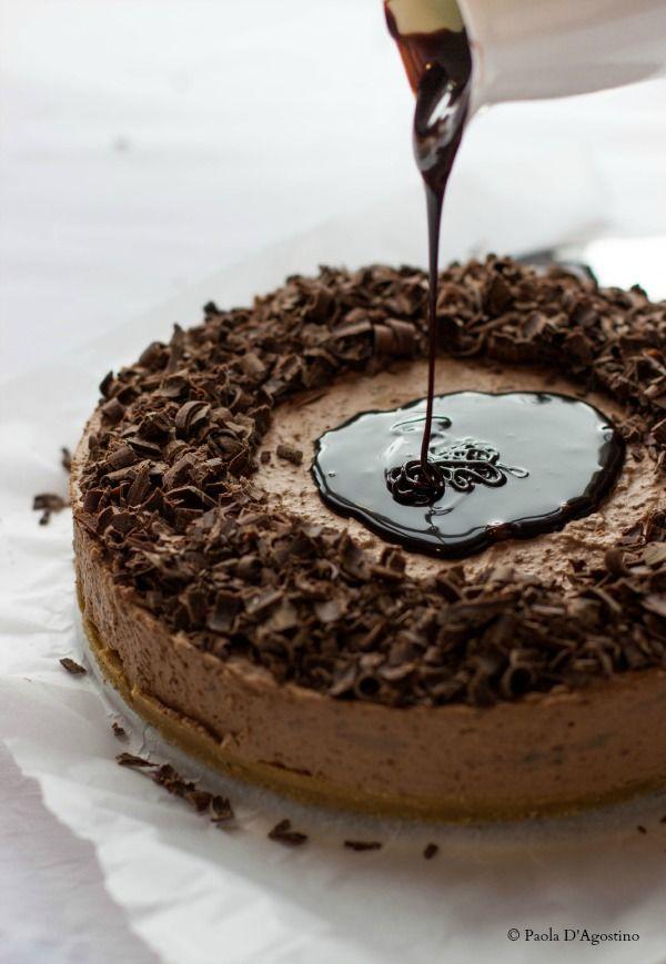 La bottega delle dolci tradizioni: Cheesecake al cioccolato