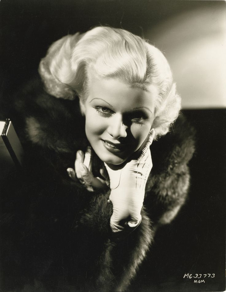 https://flic.kr/p/8whRfu | 7000-2829 | Portrait of Jean Harlow from The Girl from Missouri by George Hurrell.
