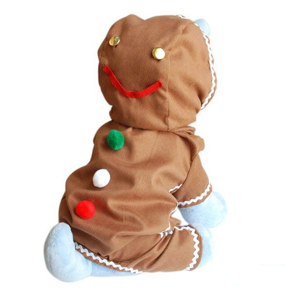 Gingerbread Boy Christmas Dog Costume | Christmass Ideas ...