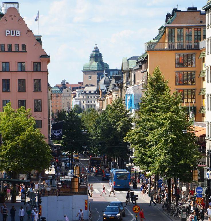 Kungsgatan, Stockholm.