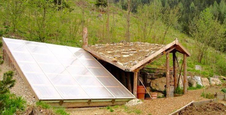 $300 Underground Greenhouse Grows Food Year Round; An Extraordinary Walipini