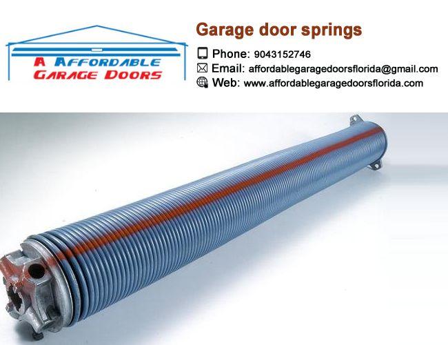 We provide 24/7 garage door repairs services that  includes Garage door cable repair, Garage door springs repairs, garage door opener repairs and more.