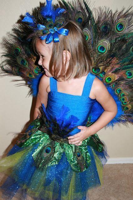 DIY peacock costume by eddie