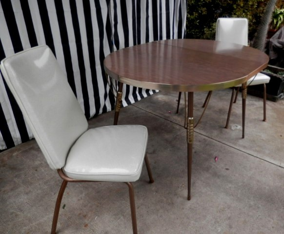 douglas furniture dining room chairs. authentic 1960\u0027s douglas furniture corporation kitchen table with two chairs -$250.00 dining room pinterest