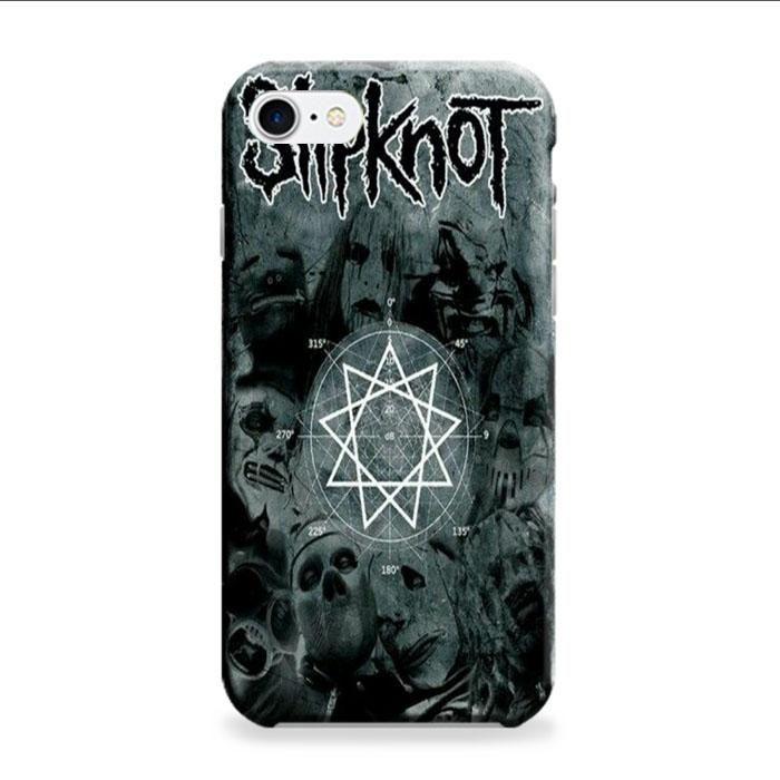 Slipknot Logo Poster iPhone 7 3D Case