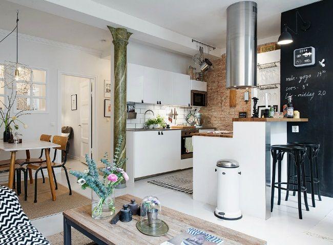 inspiracje w moim mieszkaniu: Styl skandynawski na 47 m2