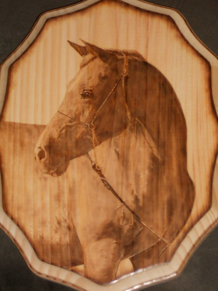 Wood burning by Colleen Jess  Horse  http://www.facebook.com/media/set/?set=a.272888877718.141525.632142718=1