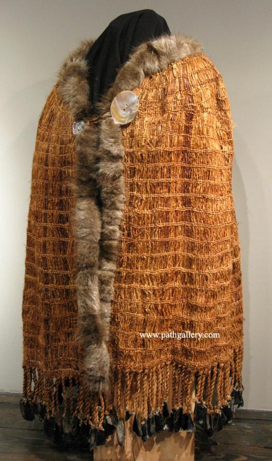 Collison, Stephen Robe 'Cedar' - Northwest Coast Native Textiles