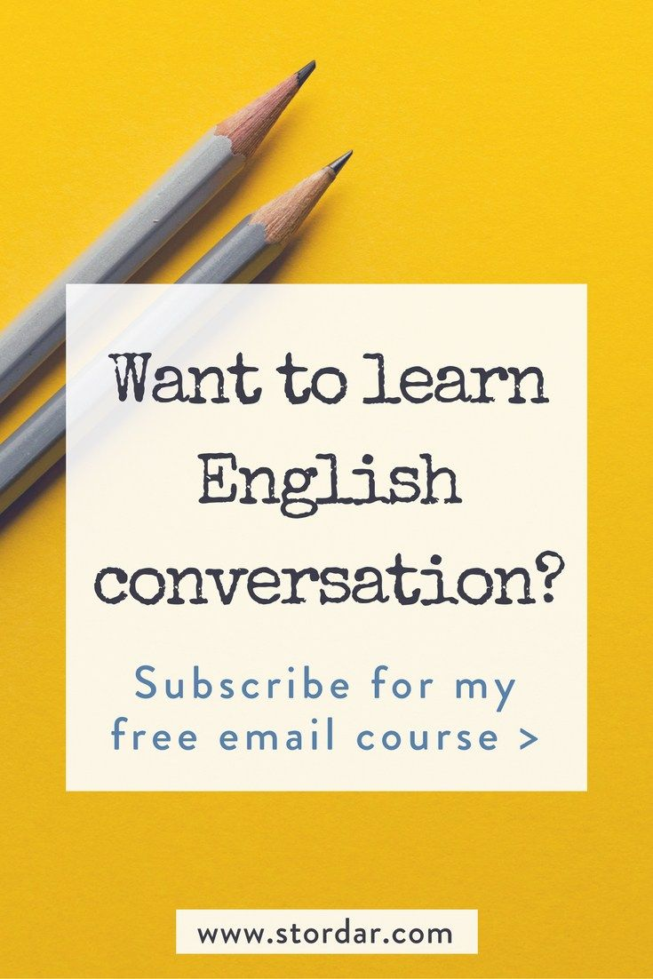 Learn English Conversation: Join Free Email Course. Do you get lost in real life communication in English? Do you feel lost for words? Do you want to know how to be social and communicative? Learn the patterns and set phrases which you can use in most everyday conversations in English from this free email course by @stordar. @smartlanguagelearning. More on:  stordar.com