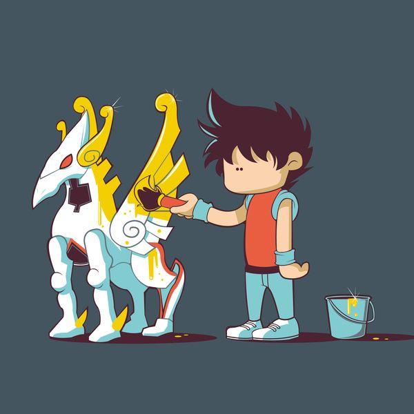 Ilustrações engraçadas por Pandaluna