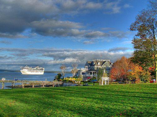 The Bar Harbor Inn, Maine