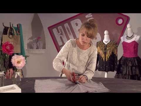Tutorial Hip voor Nop - Franje sjaal - YouTube