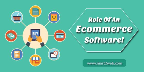 Managing Products,Easy Marketing,Ordering System,Managing Customers Data,Improving User Experience main roles of eCommerce software.