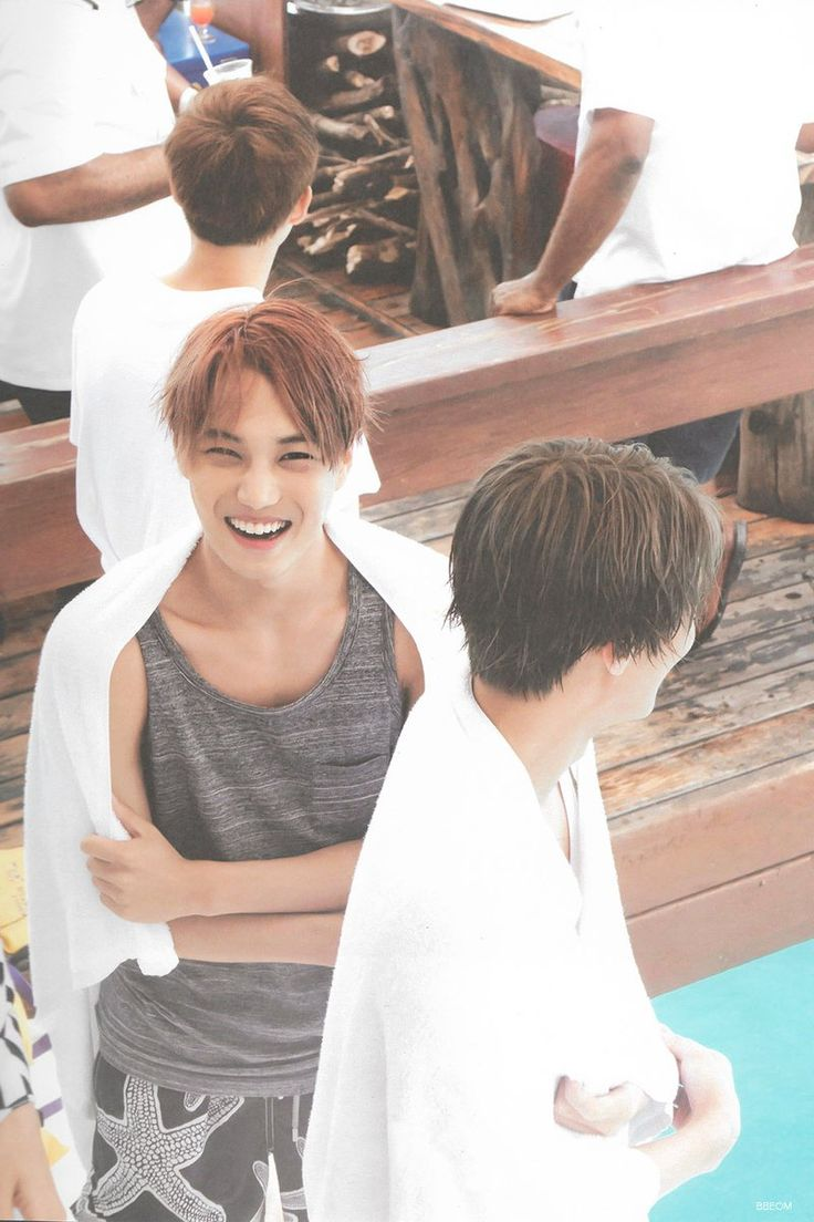 Mais eu nn aguento esse sorriso :D Kai EXO ❤