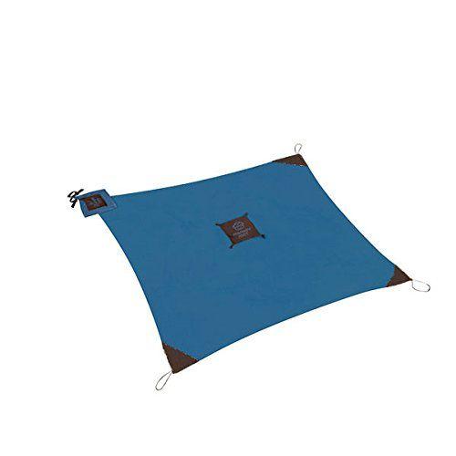 Monkey Mat: Your Portable Floor - Blue Yonder - 5 'x 5' Portable Nylon Mat Monkey Mat