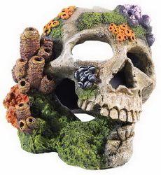 Skull Aquarium Ornament Classic Brand - click to enlarge