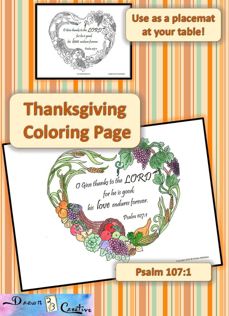 catholic coloring pages thanksgiving printable - photo#44