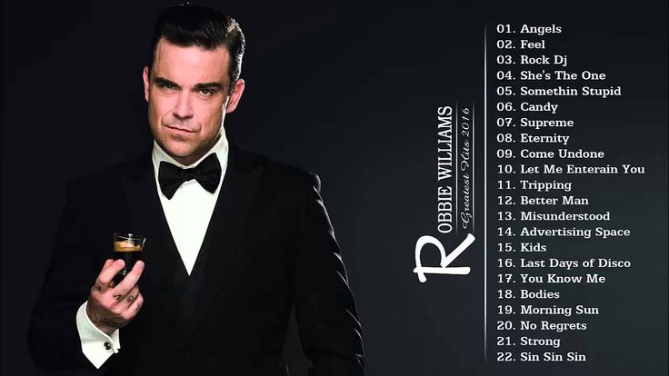 Robbie Williams : Greatest Hits -  - New Songs, Playlists