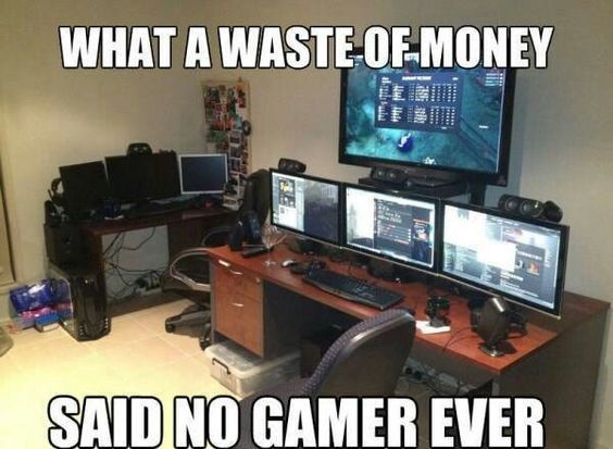 Never. #gaming #gamer #meme