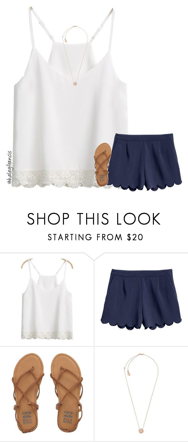 """Won my tennis match today! "" by haleyfrancis ❤ liked on Polyvore featuring Billabong and Michael Kors"