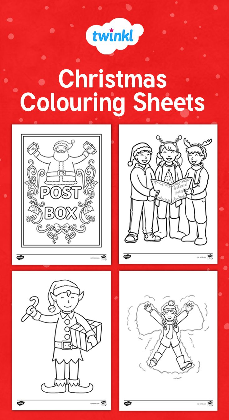 Christmas Colouring Sheets Printable Christmas Coloring Sheets Christmas Colors Coloring Sheets