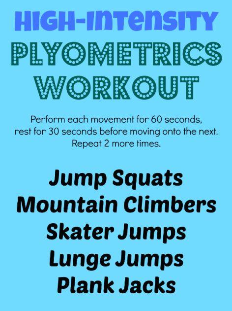 A Plyometrics Workout to Jumpstart Your Day  | health.com