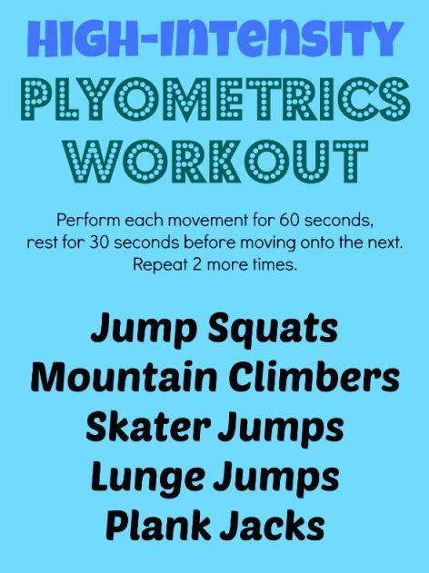 A Plyometrics Workout to Jumpstart Your Day  | health.com