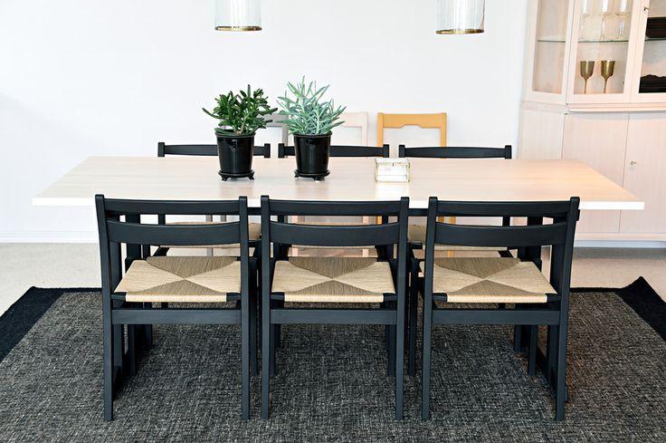 Bord Visingsö och stol Kaj. Design Carl Malmsten