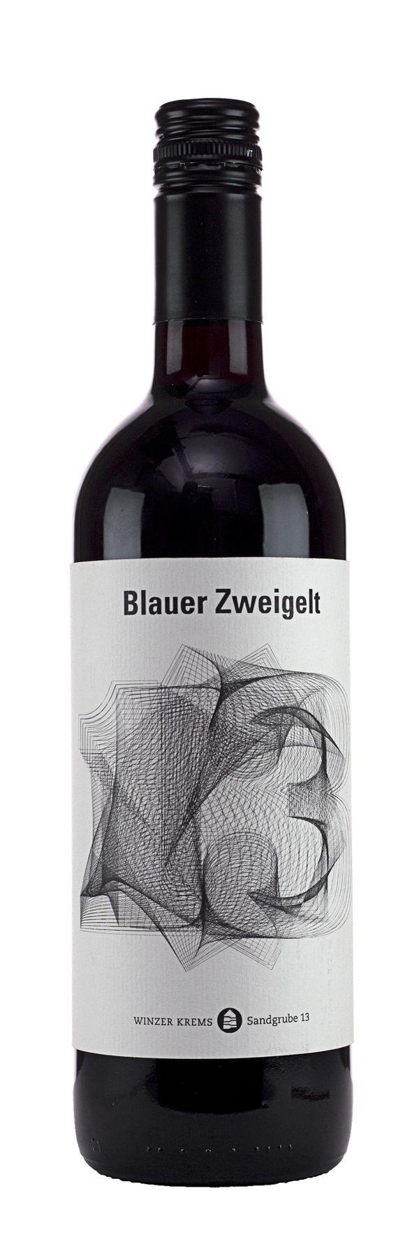 Sandgrube 13 by Sebastian Rauch Wine Label #taninotanino #vinosmaximum
