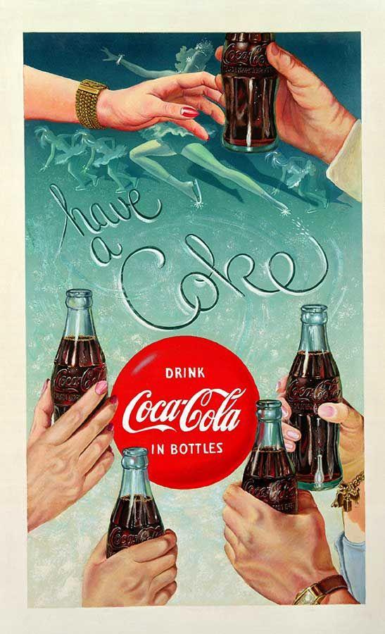 Coca-Cola Bottle Print Ads
