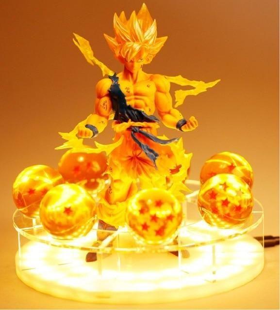 Dragon Ball Z Goku Shenron Led Table Lamp Dragon Ball Dragon Ball Z Goku