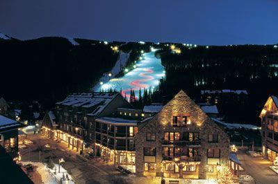 6 Reasons to Ski Keystone in Colorado. Hint: Night skiing is one of them! #TMOM