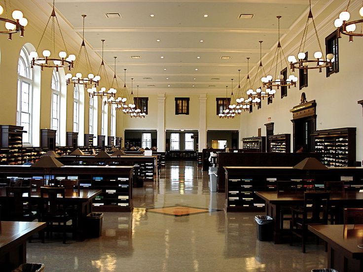 Reading Room At Emory University In Atlanta Part 13