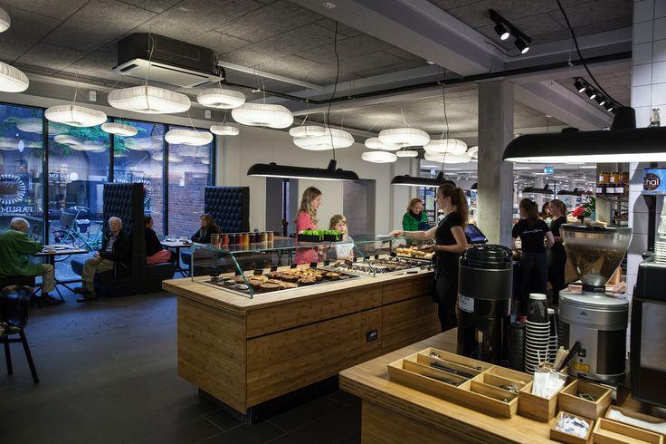 Farumhus Konditori in Birkerød  Interior design, indretning, decor, bakery, bageri, cafe