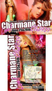 CharmaneStar at club 939