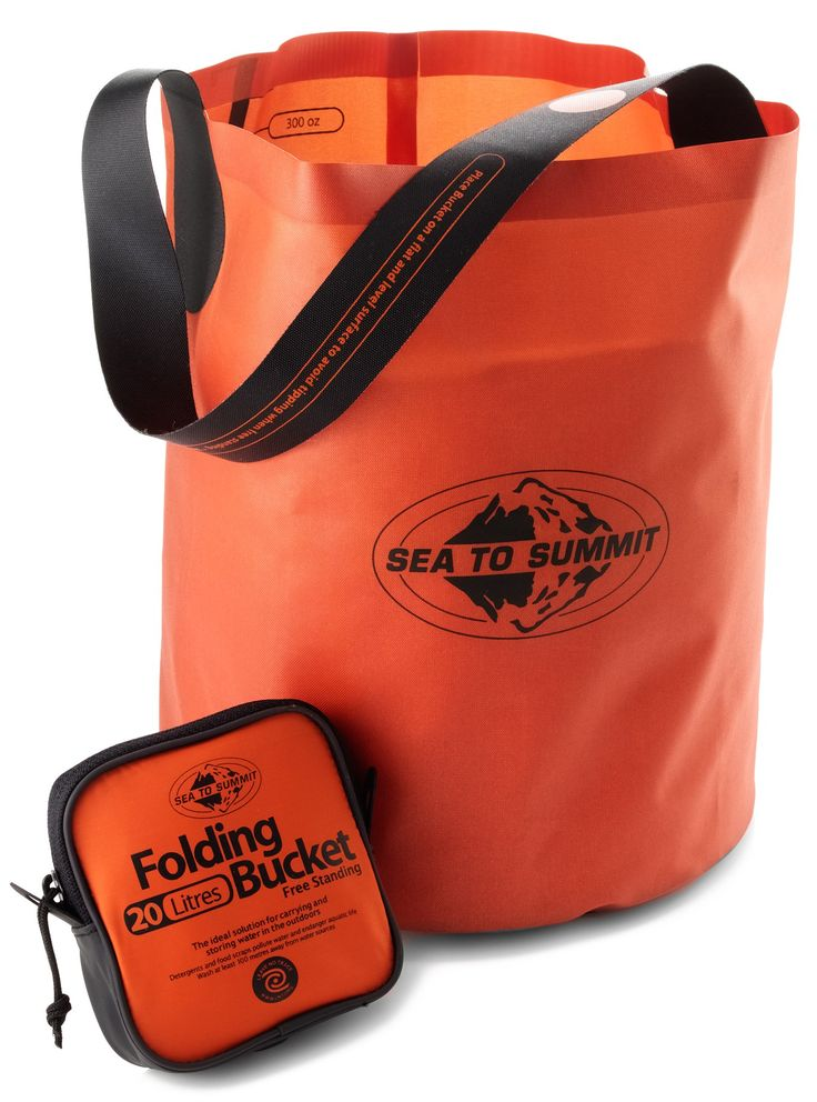 Sea to Summit Folding Bucket - 20 Liters - Free Shipping at REI.com