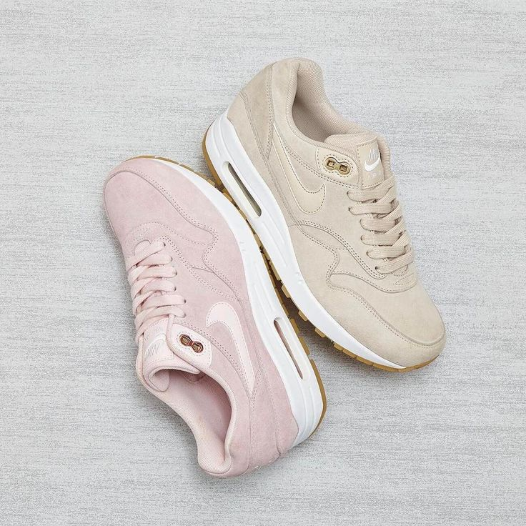Introducing the new @nike Air Max 1's in #exclusive Prism Pink & Oatmeal White. Coming Soon! #nike #airmax1 #suede #comingsoon #ownit2017