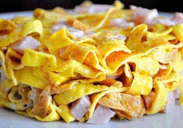 "Salad ""Little Switzerland"" #food #cooking #recipe"