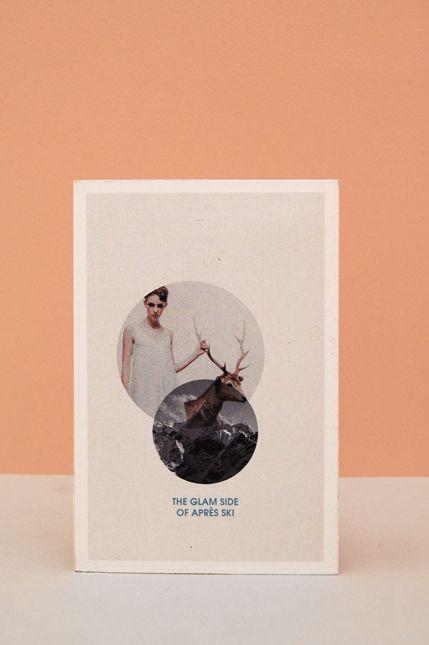 T I N A A. Chalet Gargote postcard.