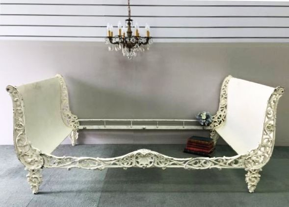 Beds Awesome Wrought Iron Sleigh Bed Wrought Iron Sleigh: 17 Best Images About Rusty Iron Beds On Pinterest
