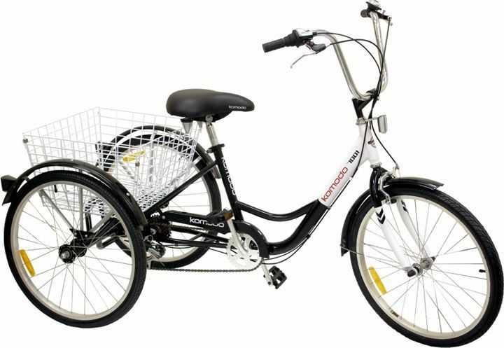 """24"""" 3 Wheel Adult 6speed SHIMANO Shifter Tricycle Bicycle"""
